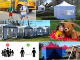carpas, carpas plegables, carpas plegables FleXtents®, carpa, carpas resistentes, FleXtents, Dancover, Dancovershop
