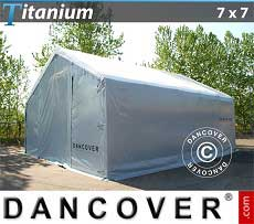 Carpa de almacén grande Titanium 7x7x2,5x4,2m