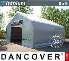 Carpa de almacén grande Titanium 8x9x3x5m