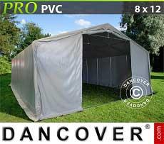 Carpa grande de almacén PRO 8x12x4,4m PVC