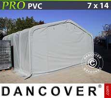 Carpa grande de almacén PRO 7x14x3,8m PVC