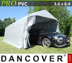 Carpa garaje PRO 3,6x8,4x2,68m PVC