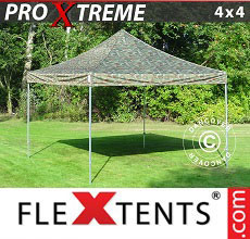 Carpa plegable FleXtents Xtreme 4x4m Camuflaje