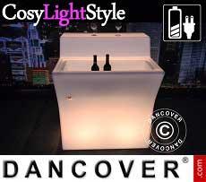 Bar LED, mesa mediana