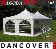 Pagoda Partyzone PRO 4x8m, PVC