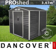 Caseta de jardin 2,13x1,91x1,90m ProShed, Antracita