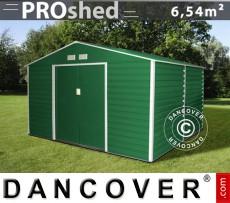 Caseta de jardin 2,77x2,55x1,98m ProShed, Verde