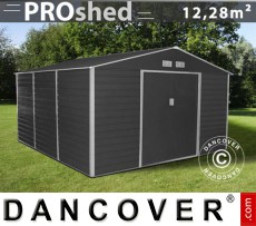 Caseta de jardin 3,4x3,82x2,05m ProShed, Antracita