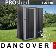 Caseta de jardín ProShed 1,43x0,89x1,86m, Antracita