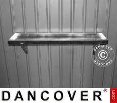 Caseta de jardin metalica, estante de acero para herramientas ProShed