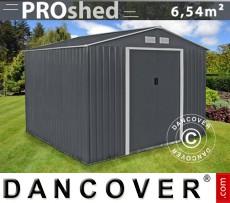 Caseta de jardín ProShed 2,77x2,55x2,02m, Antracita