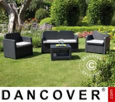 Set de mobiliario de jardín Sorrento, Antracita