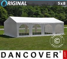 Carpa para fiestas Original 5x8m PVC, Blanco