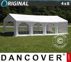 Carpa para fiestas Original 4x8m PVC, Blanco