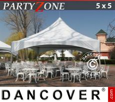Carpa para fiestas PartyZone 5x5 m PVC