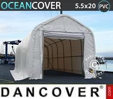 Carpas de almacén Oceancover 5,5x20x4,1x5,3m PVC