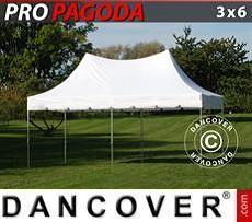 Carpa para fiestas  PRO Peak Pagoda 3x6m Blanco