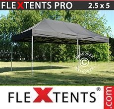 Carpa plegable FleXtents PRO 2,5x5m Negro