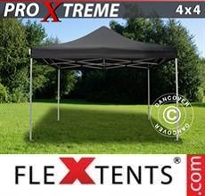 Carpa plegable FleXtents Xtreme 4x4m Negro