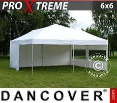 Flextents Carpas Eventos Xtreme 6x6m Blanco, Incl. 8 lados