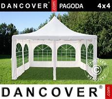 Pagoda Partyzone 4x4m, Blanco sucio