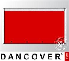 Muro hastial UNICO 3m, Rojo