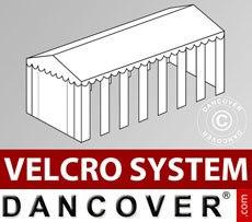Cubierta para tejado con velcro para carpa Exclusive CombiTents™ de 6x14m,...