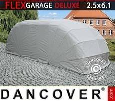 Garaje plegable (para coche), ECO, 2,5x6,1x2m, gris