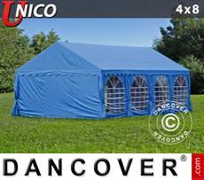 Carpa para fiestas UNICO 4x8m, Azul