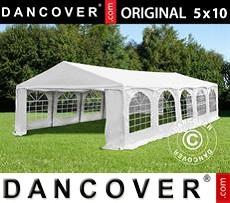 Carpa para fiestas 5x10m PVC,
