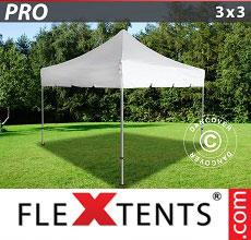 Carpa plegable FleXtents 3x3m Blanco
