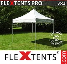 Carpa plegable FleXtents 3x3m Plateado