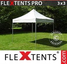 Carpa plegable FleXtents 3x3m Plateado