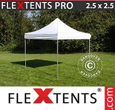 Carpa plegable FleXtents 2,5x2,5m Blanco