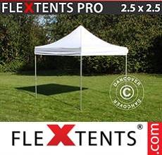 Carpa plegable FleXtents 2,5x2,5m Blanco