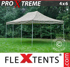 Carpa plegable FleXtents 4x6m Camuflaje