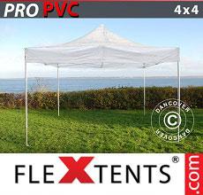Carpa plegable FleXtents 4x4m Transparente