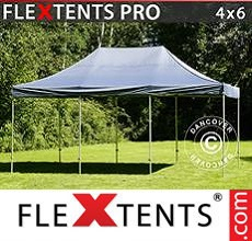 Carpa plegable FleXtents 4x6m Gris