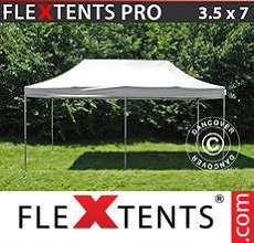 Carpa plegable FleXtents 3,5x7m Blanco