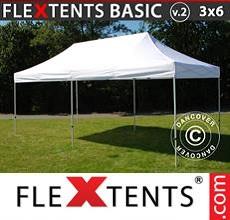 Carpa plegable FleXtents 3x6m Blanco