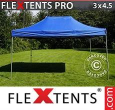 Carpa plegable FleXtents 3x4,5m Azul