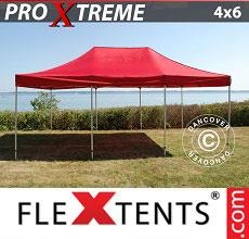 Carpa plegable FleXtents 4x6m Rojo