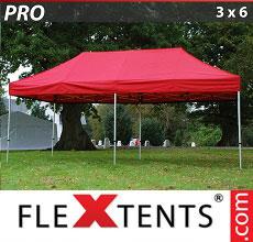 Carpa plegable FleXtents 3x6m Rojo
