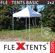 Carpa plegable FleXtents 2x2m Blanco