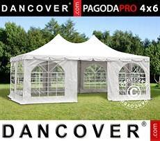 Carpa para fiestas Pagoda PRO 4x6m, PVC