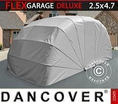 Garaje plegable (para coche), ECO, 2,5x4,7x2m, gris