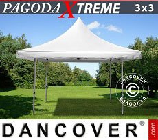 Flextents Carpas Eventos 3x3m / (4x4m) Blanco