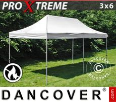 Flextents Carpas Eventos 3x6m Blanco, Ignífuga