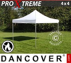 Flextents Carpas Eventos 4x4m Blanco, Ignífuga