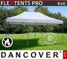 Flextents Carpas Eventos 4x6m Blanco, Ignífuga